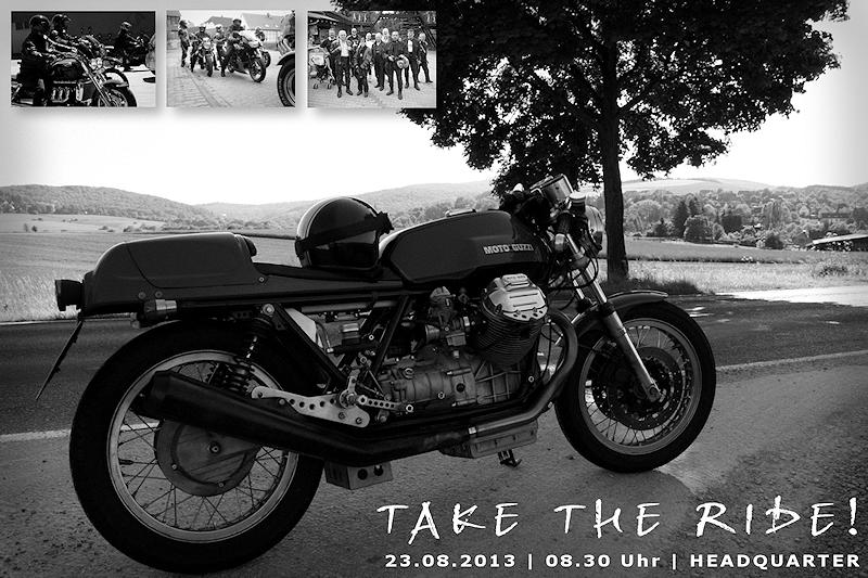 Einladung Motorradtour 2013