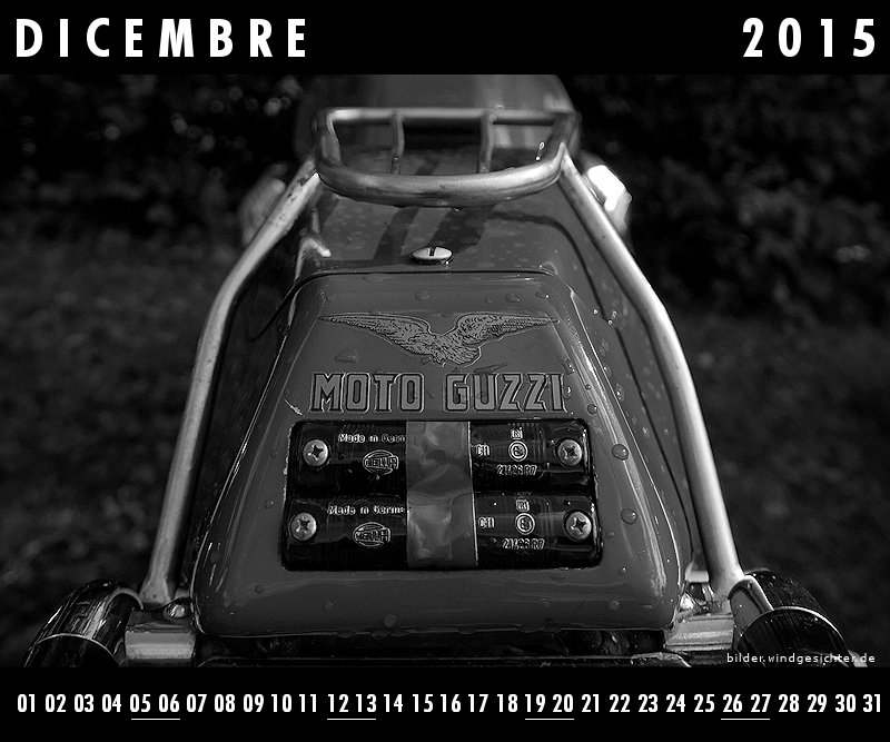 moto guzzi kalender