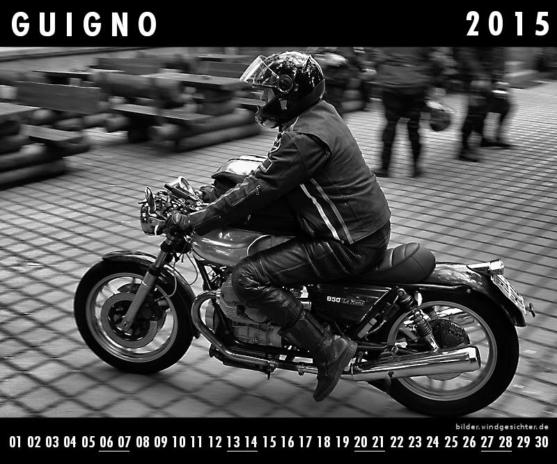 Guzzi Kalender Juni 2015