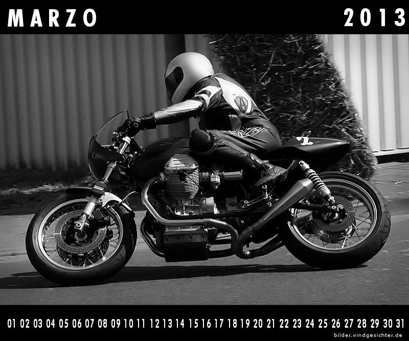 Kalender Guzzi 2013