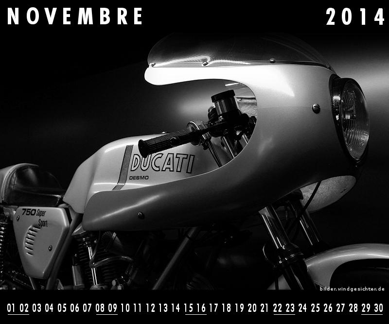 Guzzikalender Novembre November 2014