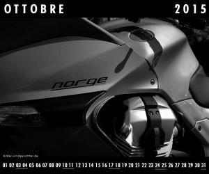 Guzzi Kalender Ottobre Okober 2015