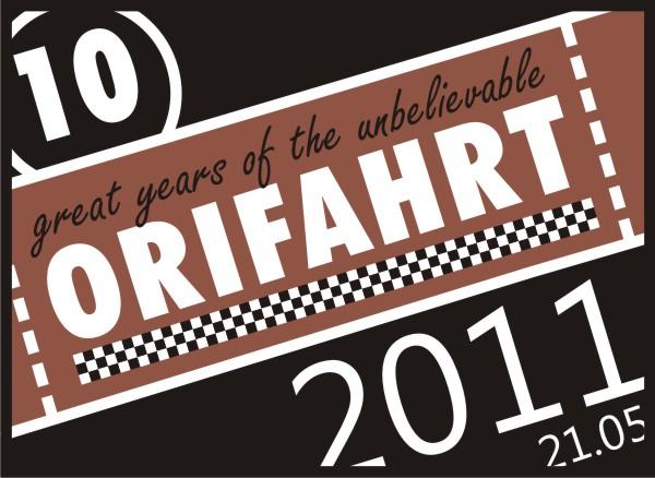 Einladung Orifahrt  2011