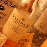 Whisky: Edradour Talisker  Glenlivet  Lagavulin und Oban